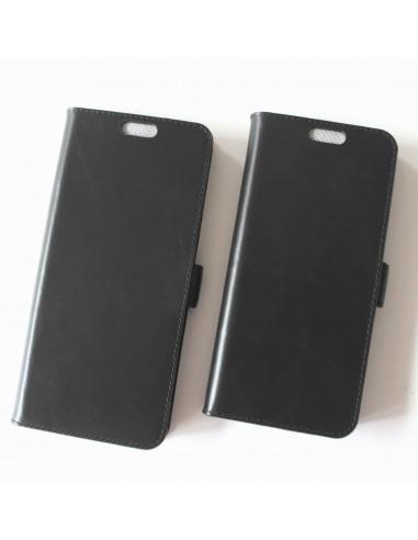 Samsung Galaxy S21 Plus case black leather