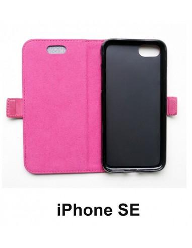 Etui anti-ondes iPhone SE cuir (book)