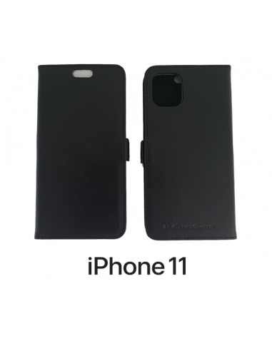 iPhone 11 Leder-Anti-Wellen-Hülle