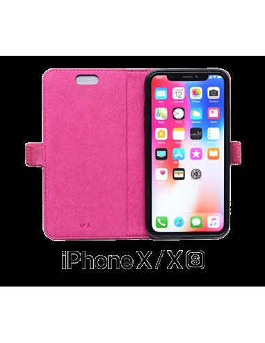 Funda de cuero superior iPhone X/XS...