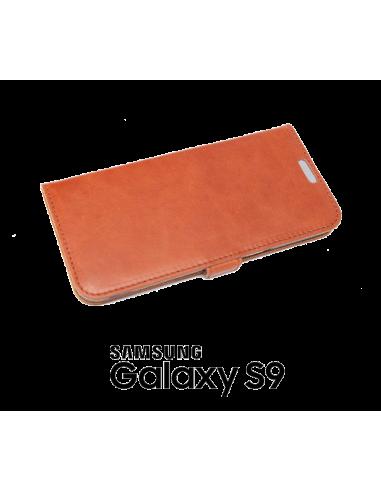 Etui anti-ondes Samsung Galaxy S9 cuir supérieur (book)