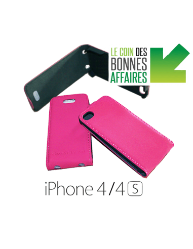 Etui anti-ondes iPhone 4 / 4s rose (up&down)