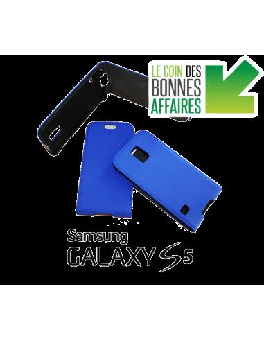 Samsung Galaxy S5 blue anti-wave case...