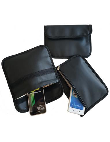 Faraday large black model (leather)