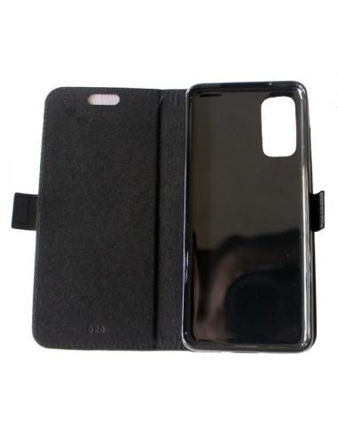 Samsung Galaxy S20 negro top cuero...