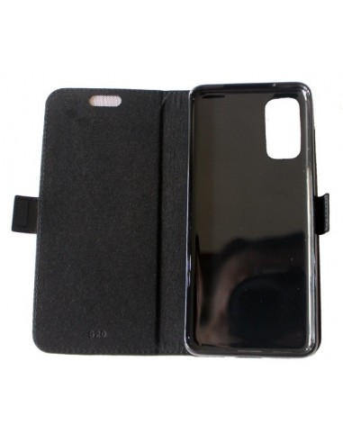 Samsung Galaxy S20 black top leather...