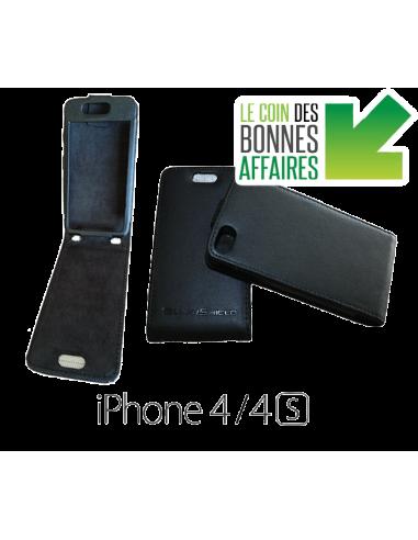 Etui anti-ondes iPhone 4 / 4s noir (up&down)