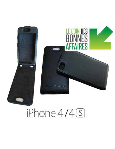 Etui anti-ondes iPhone 4 / 4s noir (up&down)