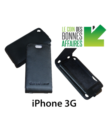 Etui anti-ondes iPhone 3G noir (up&down)