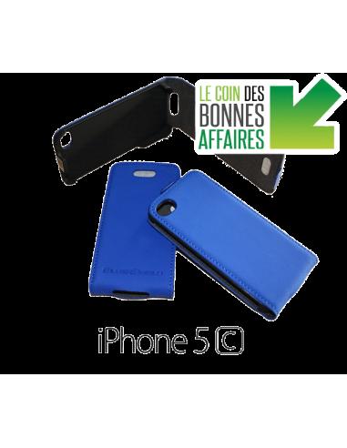 Etui anti-ondes iPhone 5c bleu (up&down)