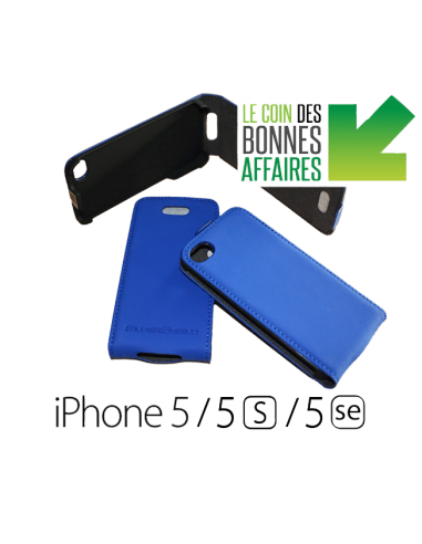 iPhone 5 / 5s / SE blue (up-down)