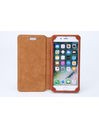 iPhone 7 Plus leather anti-wave case...