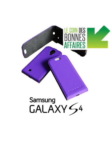 Etui anti-ondes Samsung Galaxy S4 violet (up&down)