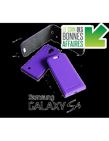 Etui anti-ondes Samsung Galaxy S4 violet (up&down)