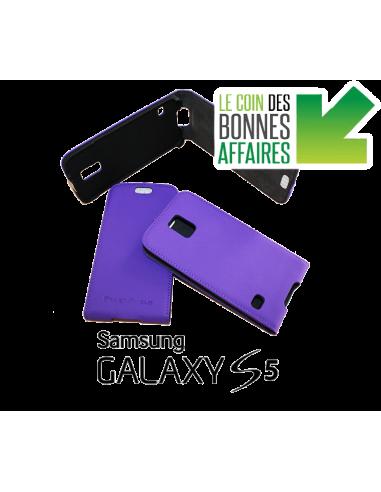 Etui anti-ondes Samsung Galaxy S5 violet (up&down)