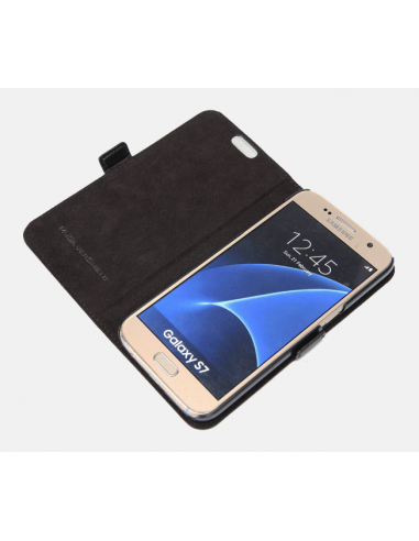 Samsung Galaxy S7 top leather...