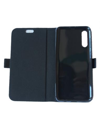 Samsung Galaxy A50 negro top cuero...