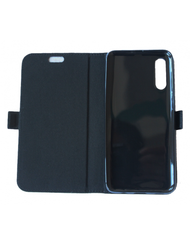 Samsung Galaxy A50 black top leather...