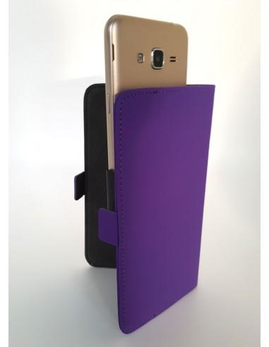 Etui Samsung Galaxy A5 cuir supérieur (book)