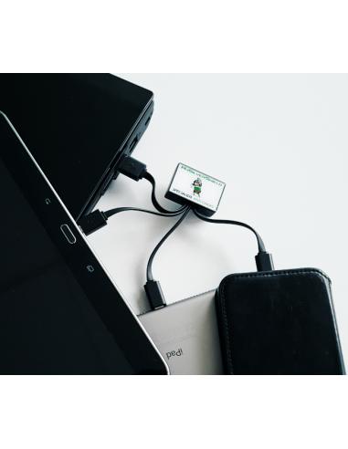 Conector múltiple para carga móvil