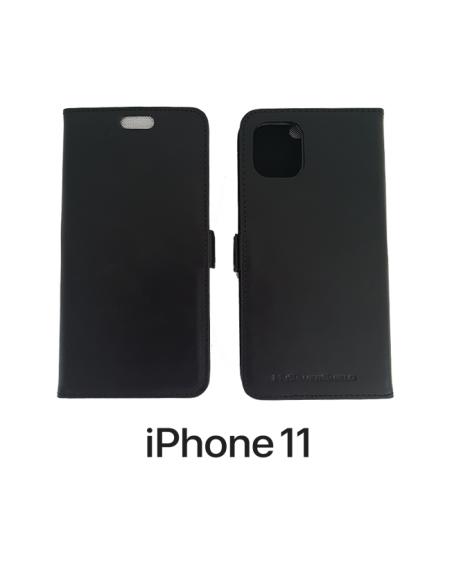 Etui anti-ondes iPhone 11 Pro cuir supérieur noir