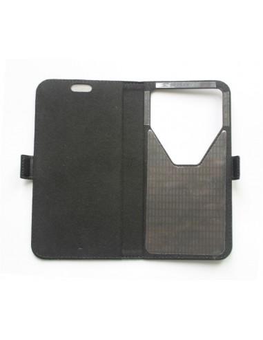 Pasaporte billetera de cuero